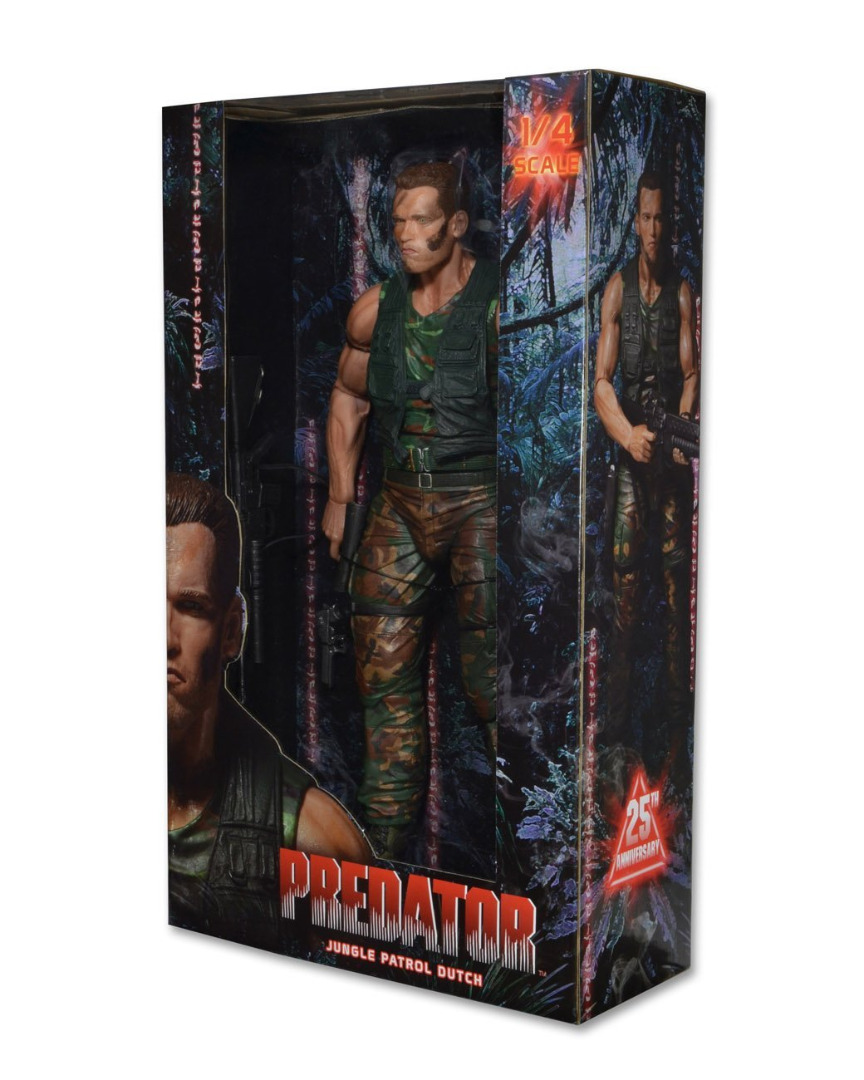 Action Figure Predator - Dutch 1/4th Scale 46 cm