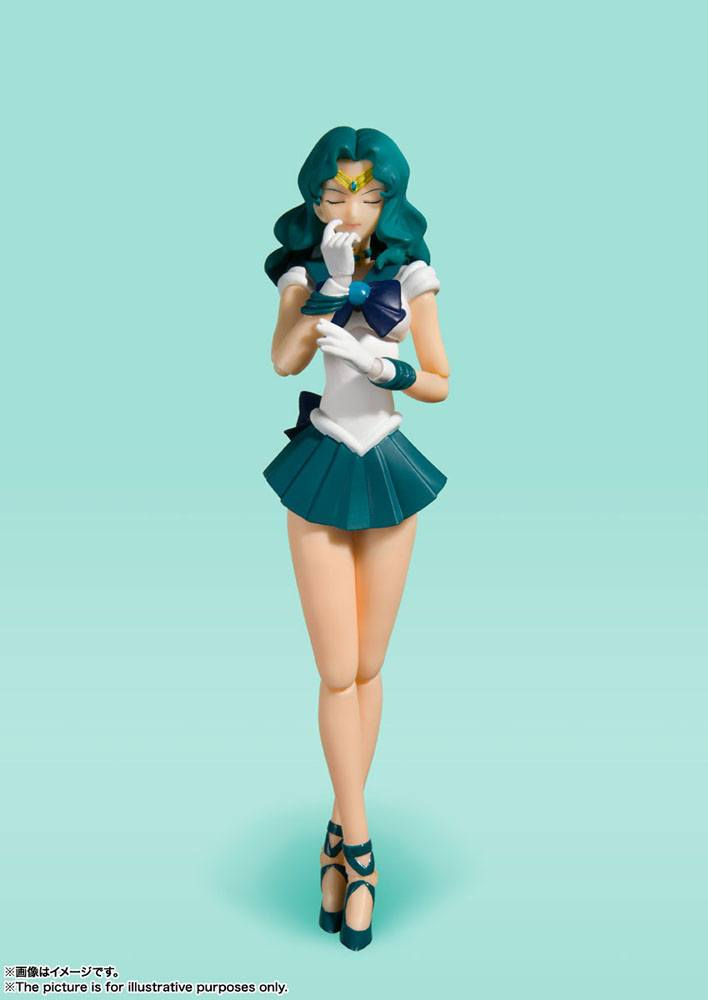 Sailor Moon S.H. Figuarts AF Sailor Neptune Animation Color Edition 15 cm