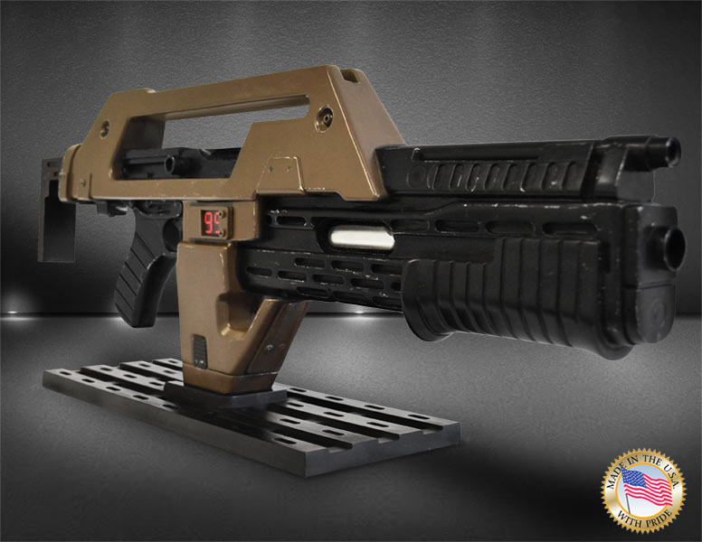 Aliens Replica 1/1 Pulse Rifle Brown Bess Weathered Ver. 68 cm