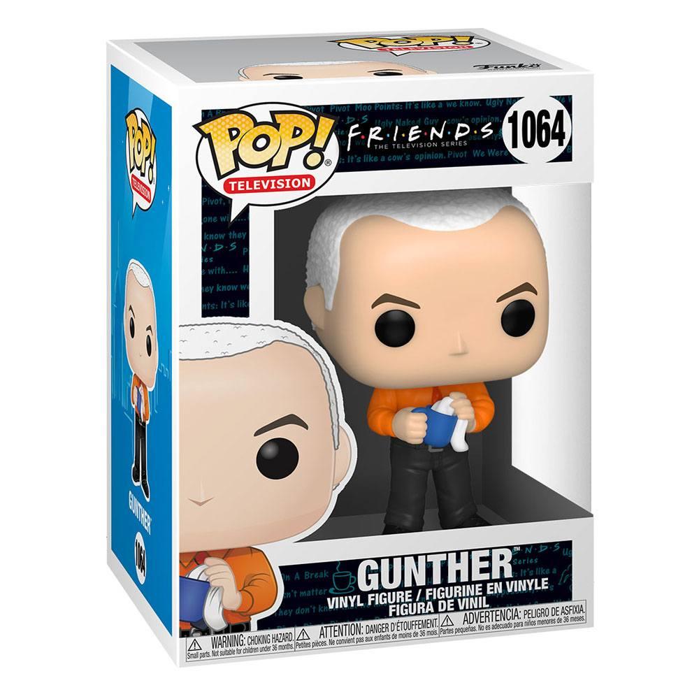Friends POP! TV Vinyl Figure Gunther 9 cm