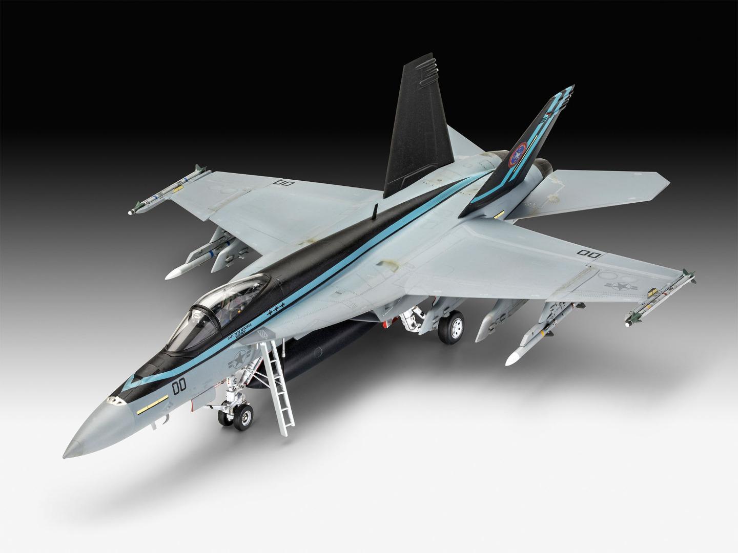 Revell Model Kit Maverick's F/A-18E Super Hornet 'Top Gun: Maverick' 1:48