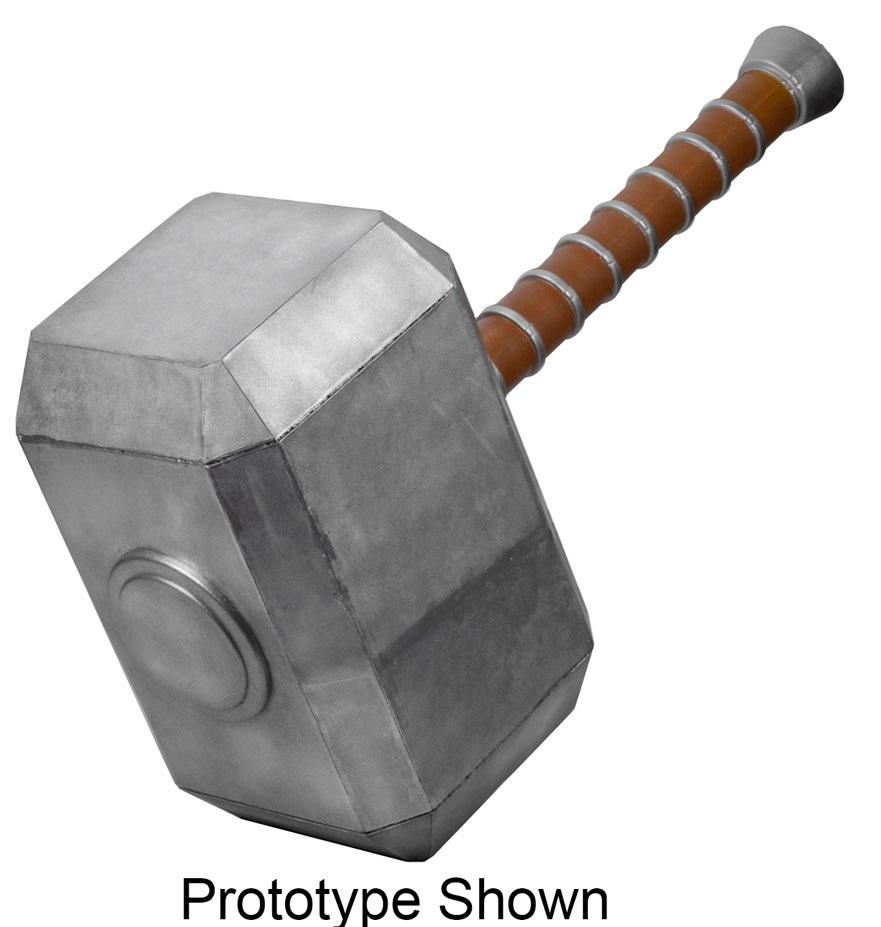 Marvel Comics Oversized Replica Mjolnir Thor's Hammer (Rubber/Latex) 122 cm