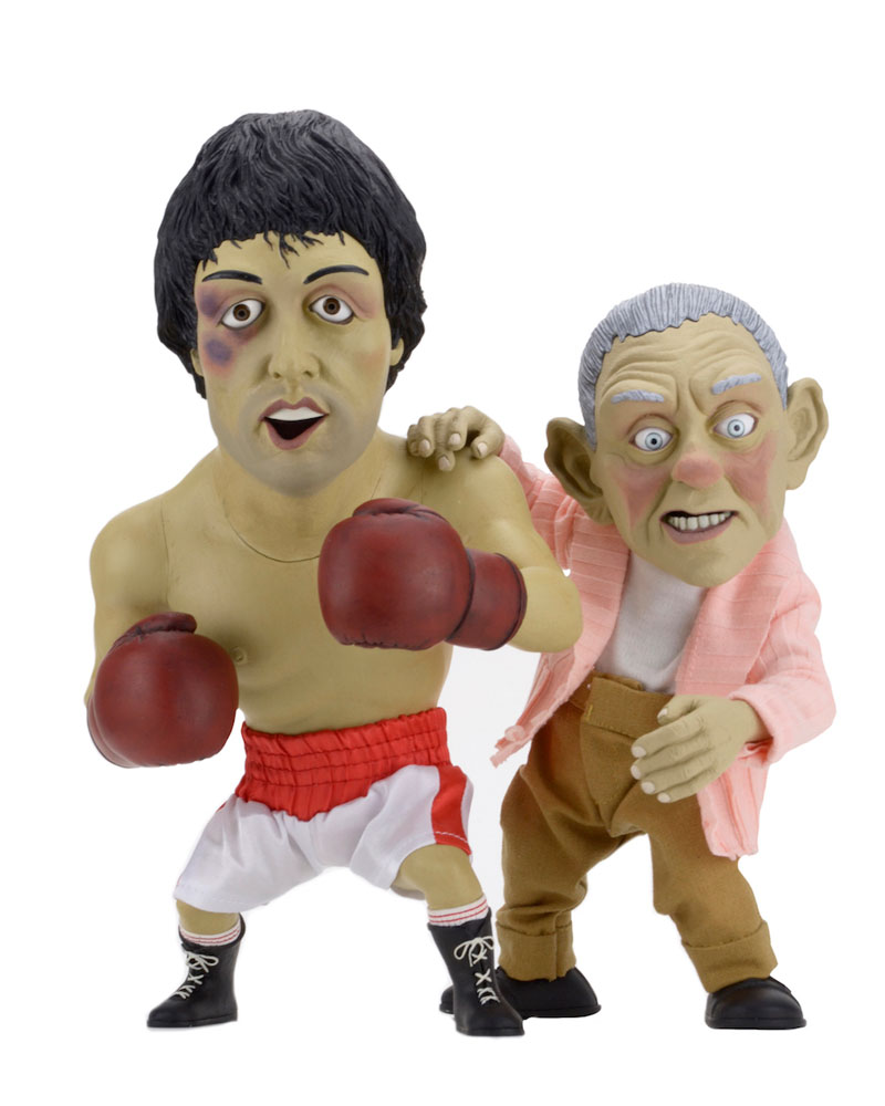 Rocky Maquette 2-Pack Rocky & Mickey Puppet Limited Edition 25-30 cm