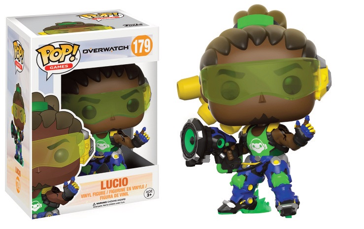 Funko POP! Games Overwatch - Lucio Vinyl Figure 10 cm