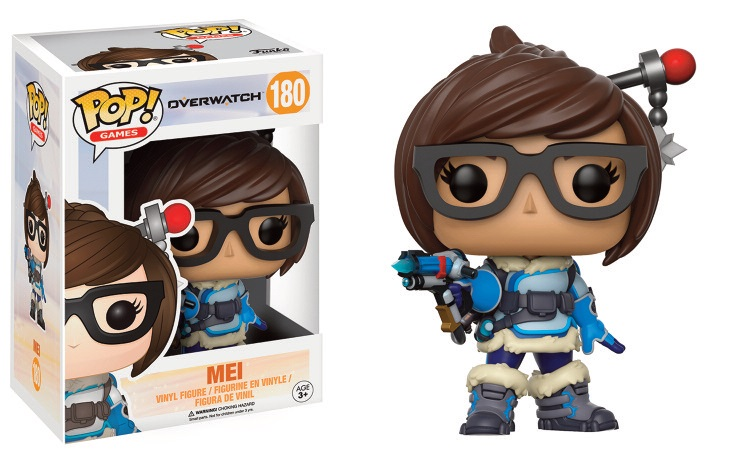 Funko POP! Games Overwatch - Mei Vinyl Figure 10 cm