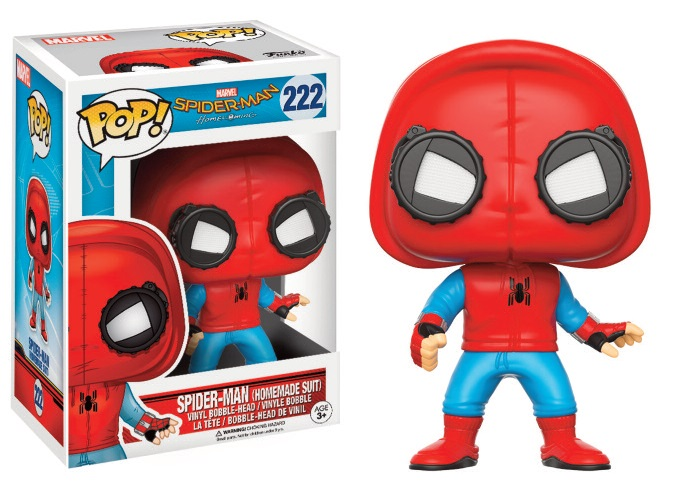 Funko POP! Movies Spider-Man Homecoming - Spider-Man (Homemade Suit) 10 cm