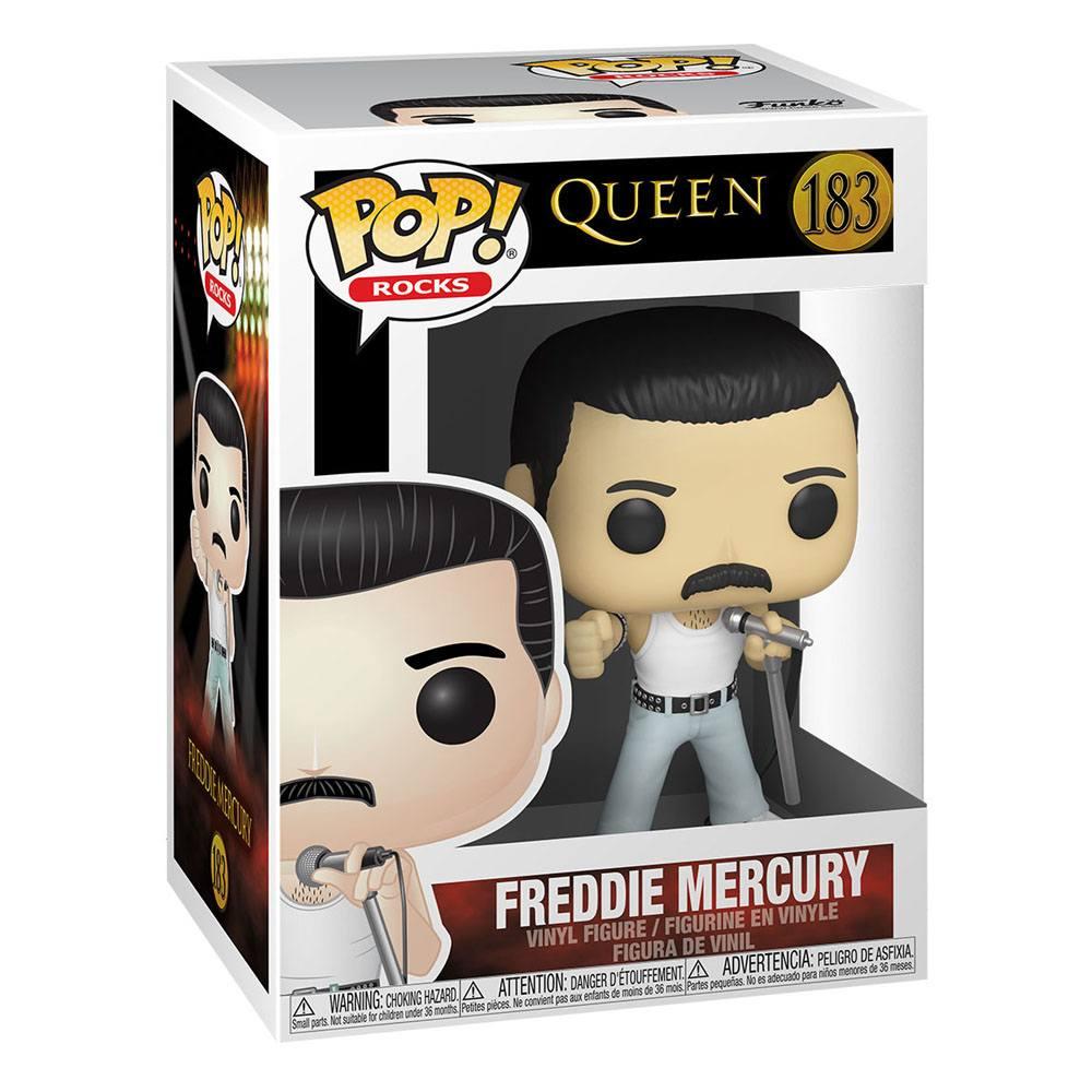 Queen POP! Rocks Vinyl Figure Freddie Mercury Radio Gaga 9 cm