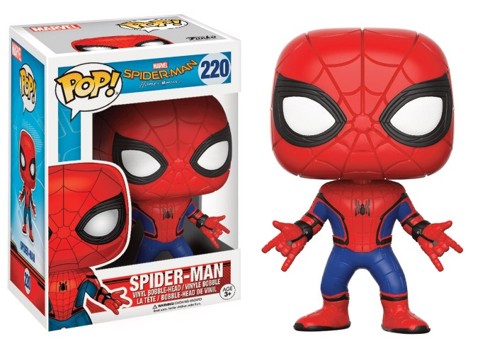 Funko POP! Movies Spider-Man Homecoming - Spider-Man Vinyl Figure 10 cm