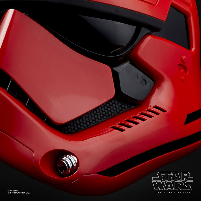 Star Wars Helmet Eletronic Cardinal Galaxy Edge Exclusive Replica 1:1