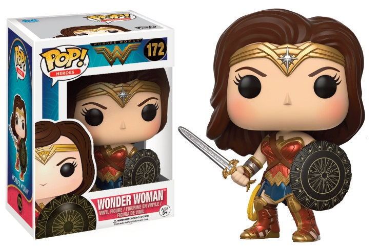 Funko POP! Movies Wonder Woman - Wonder Woman Vinyl Figure 10 cm