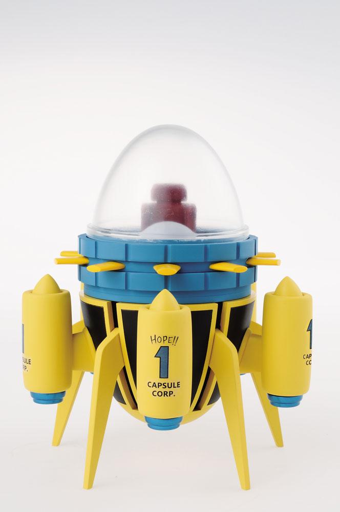 Dragonball Super Mega WCF Figure Capsule Corporation Time Machine 15 cm