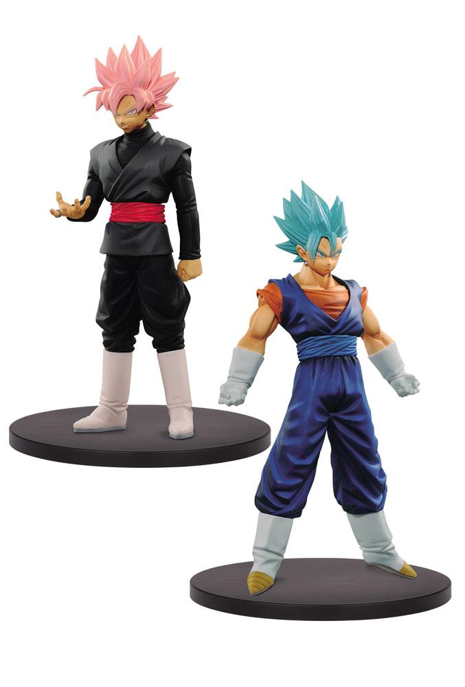 Dragonball Super Warriors DXF Figures Super Saiyan Blue Vegito & Goku 18 cm
