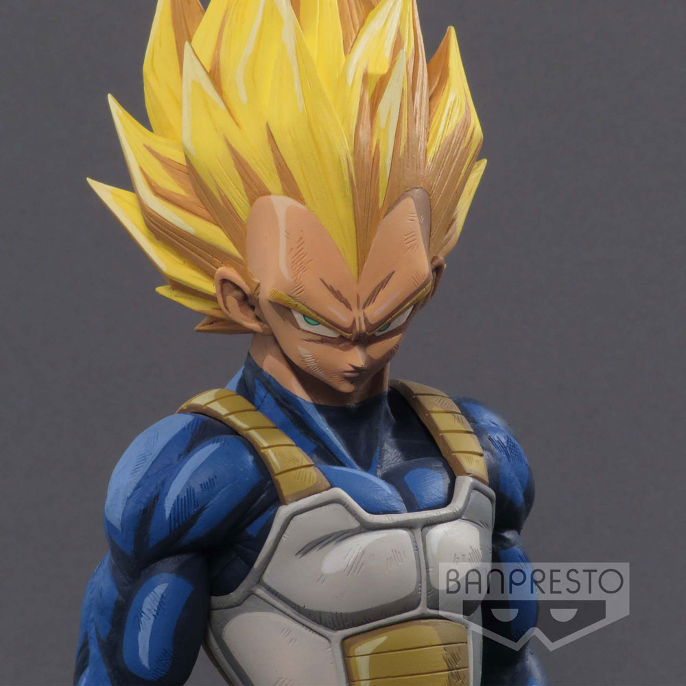 Dragonball Z Super Master Stars Piece Figure Vegeta Manga Dimensions 24 cm