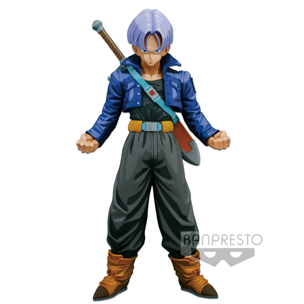 Dragonball Z Super Master Stars Piece Figure Trunks Manga Dimensions 24 cm