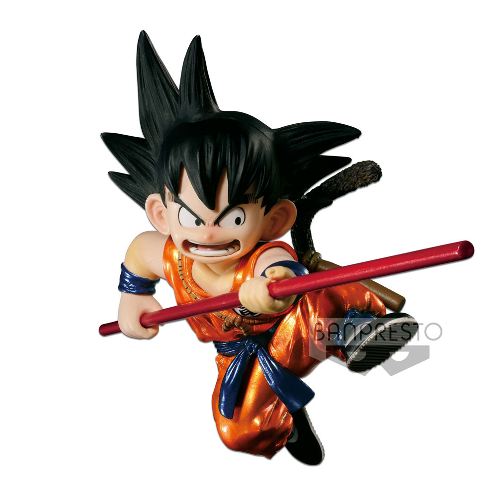 Dragonball Z SCultures Figure Young Son Goku Special Metallic Color Version