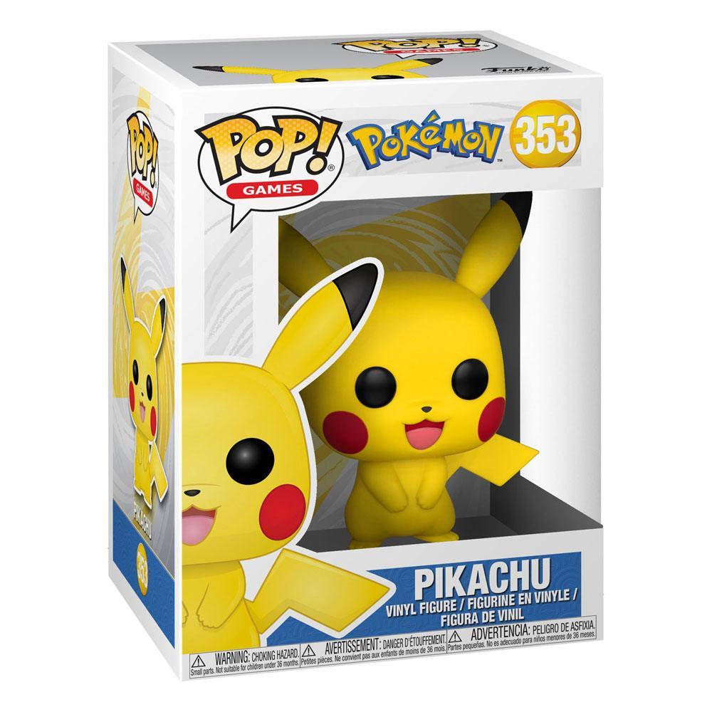 Pokémon POP! Games Vinyl Figure Pikachu 9 cm