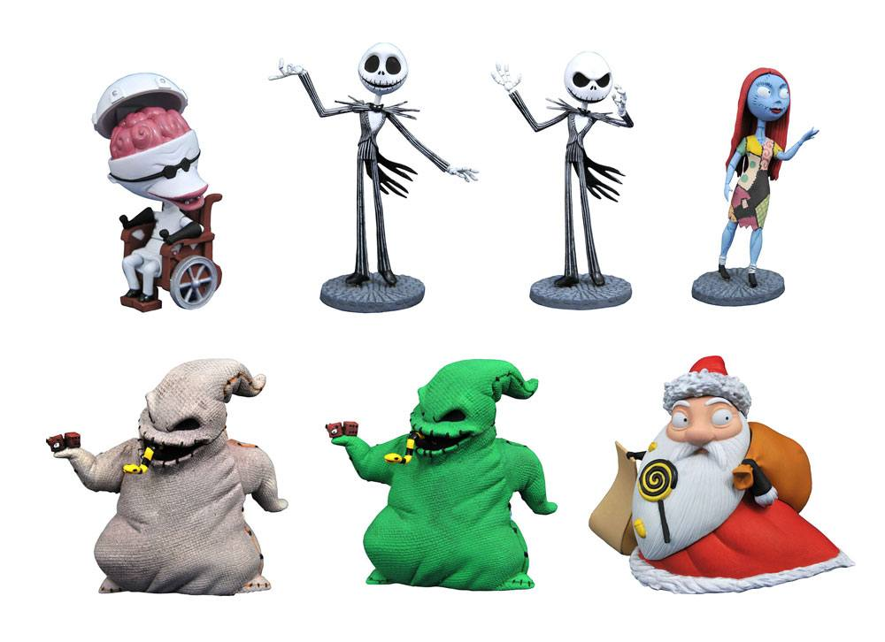 Nightmare before Christmas D-Formz PVC Figure Series 1 Mystery