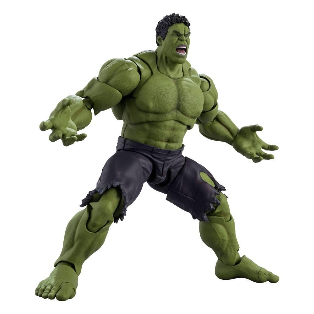 Avengers S.H. Figuarts Action Figure Hulk (Avengers Assemble Edition) 20 cm