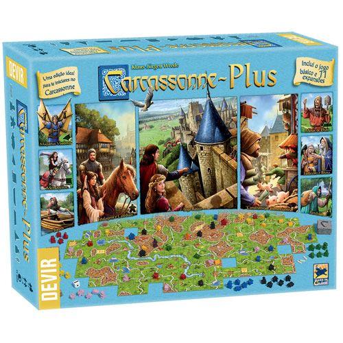 Carcassonne Plus ( Em Português)