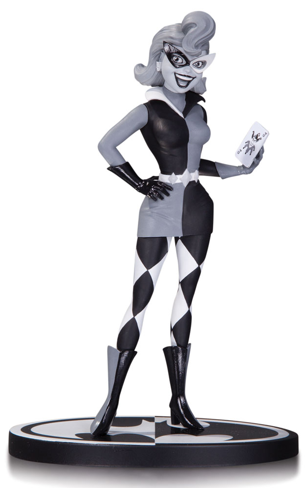 Batman Black & White Statue Harley Quinn by Paul Dini 18 cm