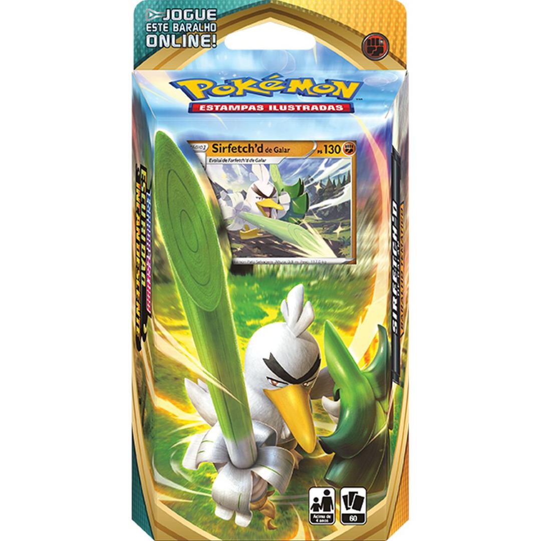 Pokémon: Espada e Escudo Escuridão Incandescente Sirfetch'd Galar Deck - PT