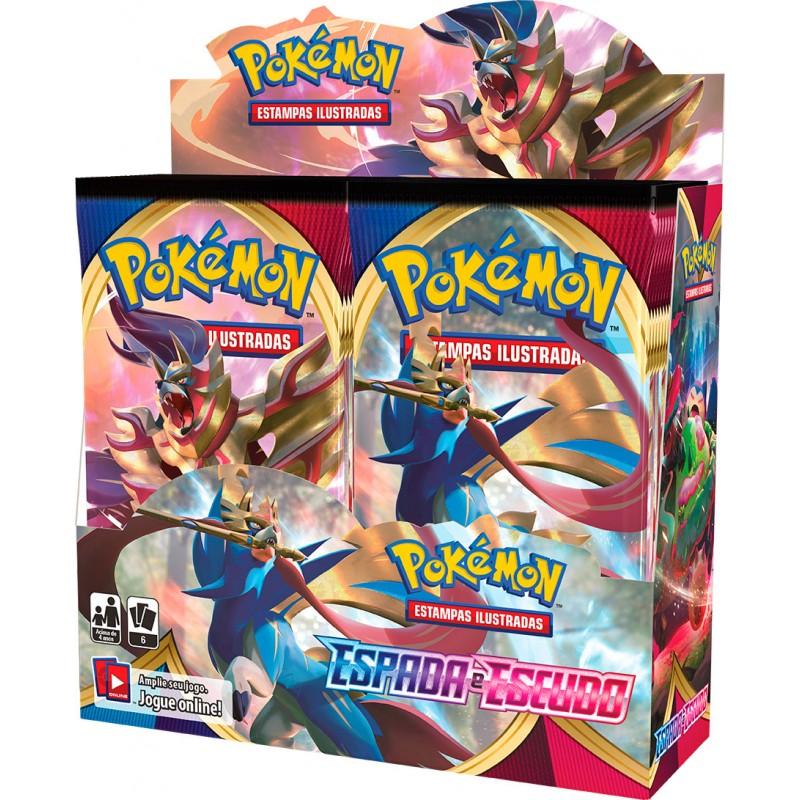 Pokémon Estampas Ilustradas Sword and Shield Booster (PT)