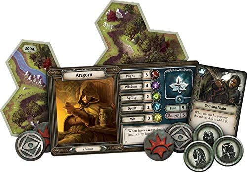 FFG - The Lord of the Rings: Journeys in Middle-Earth Board Game