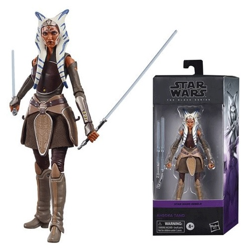 Star Wars Black Serie Ahsoka Tano Action Figure 15 cm
