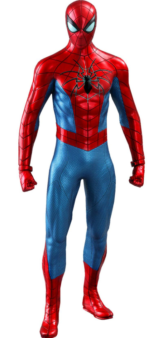 Marvel: Spider-Man Game - Spider Armor MK IV Suit 1:6 Scale Figure