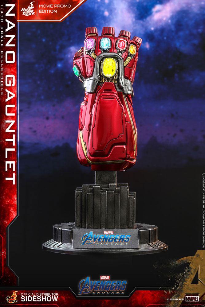 Avengers: Endgame Replica 1/4 Nano Gauntlet (Movie Promo Edition) 19 cm