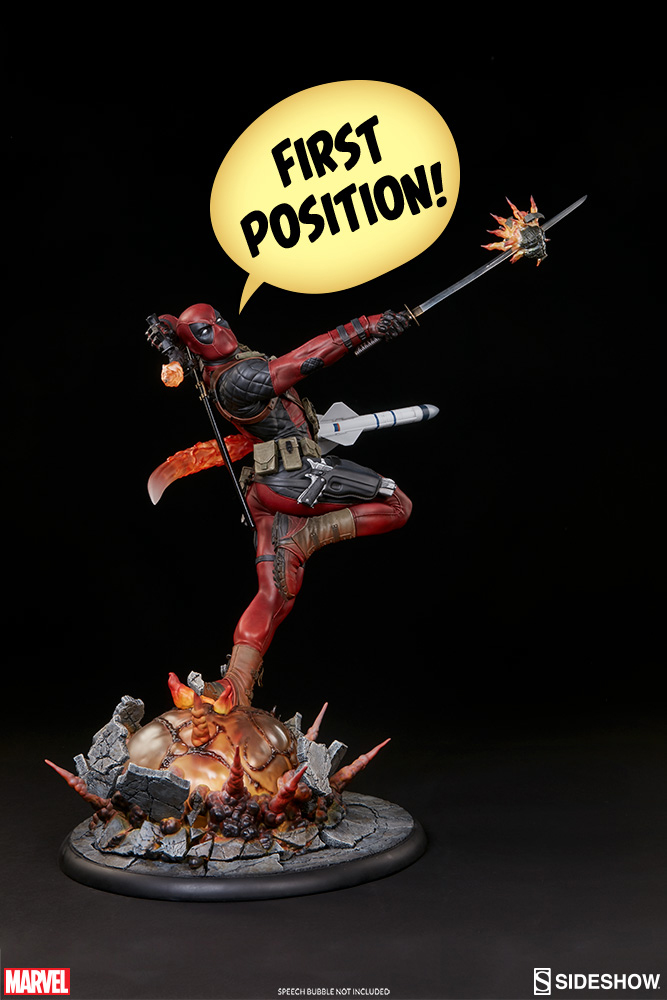 Marvel Comics Premium Format Figure Deadpool Heat-Seeker 61 cm