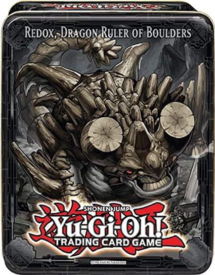 Yu-Gi-Oh! Mega Tin - Redox, Dragão Soberano dos Pedregulhos (Em português)