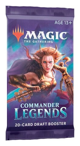 Magic The Gathering - Commander Legends Draft Booster - EN