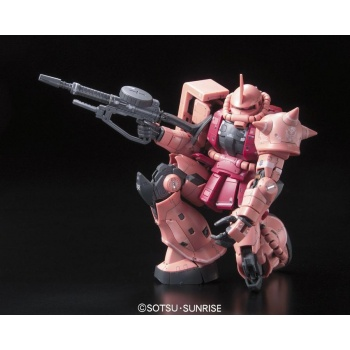 Gundam: Real Grade - MS-06S Zaku 2 1:144 Model Kit