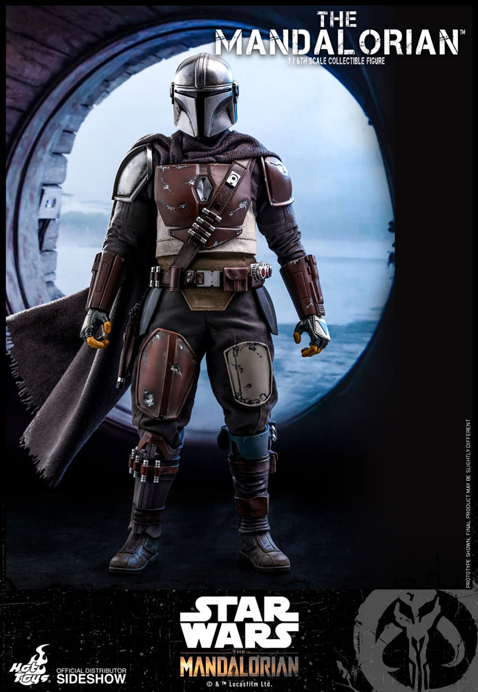 Star Wars The Mandalorian Action Figure 1/6 The Mandalorian 30 cm