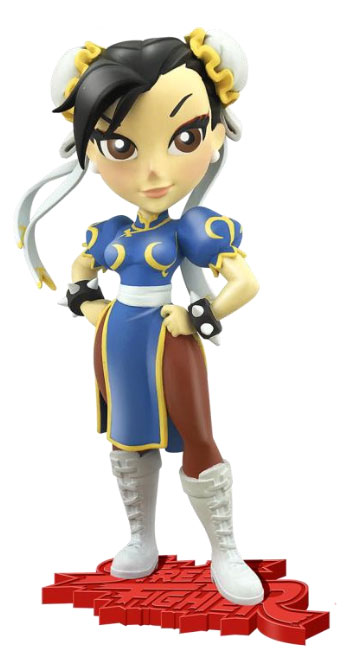 Street Fighter Knockouts Vinyl Figure Serie 1 Chun-Li 18 cm