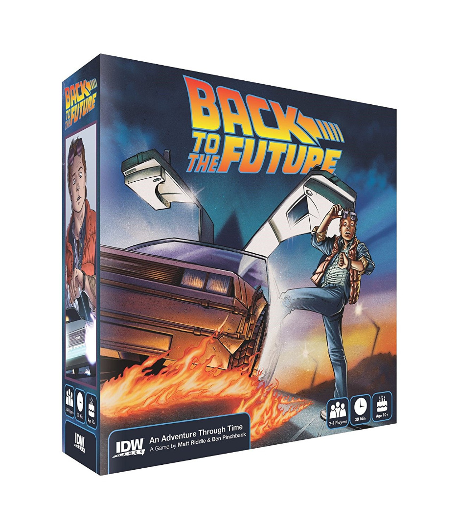 Board Game Back To The Future: An Adventure Through Time