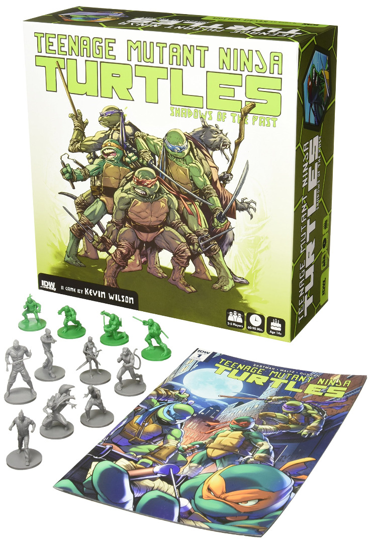 Board Game Teenage Mutant Ninja Turtles: Shadows of the Past