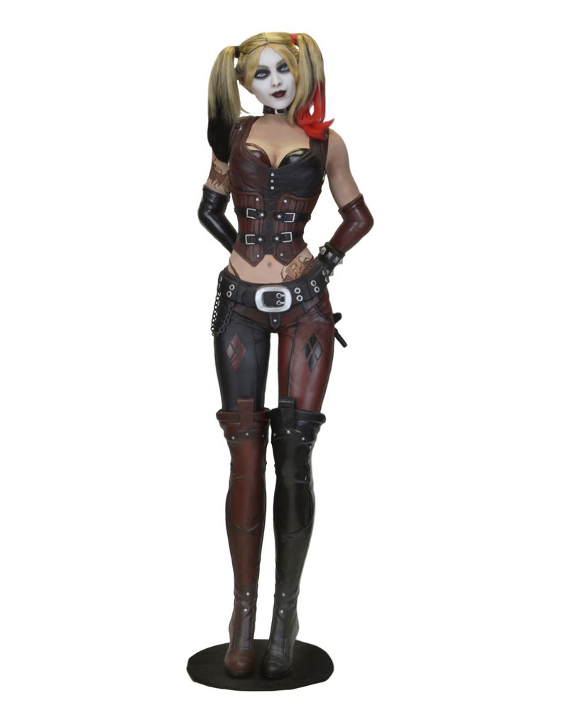 Batman Arkham City Life-Size Statue Harley Quinn (Foam Rubber/Latex) 180 cm