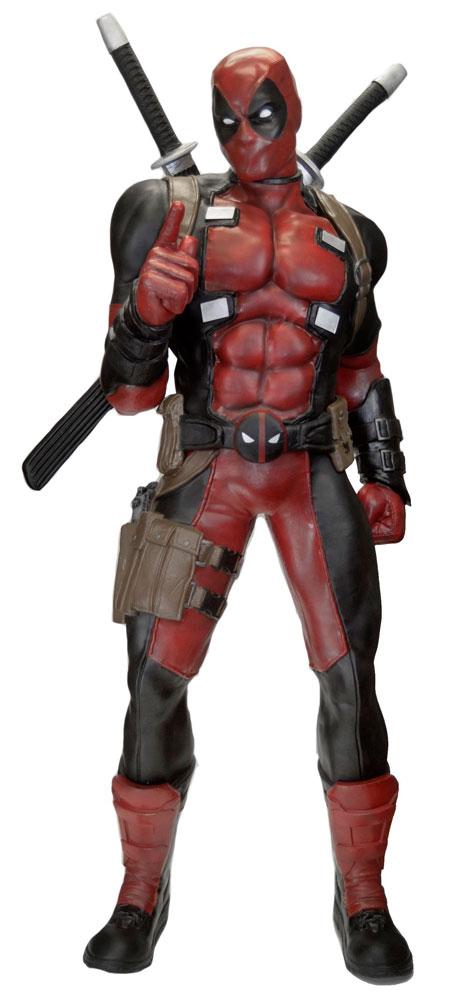 Marvel Classics Life-Size Statue Deadpool (Foam Rubber/Latex) 185 cm