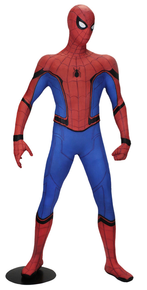 SpiderMan Homecoming Life-Size Statue Spider-Man (Foam Rubber/Latex) 173 cm