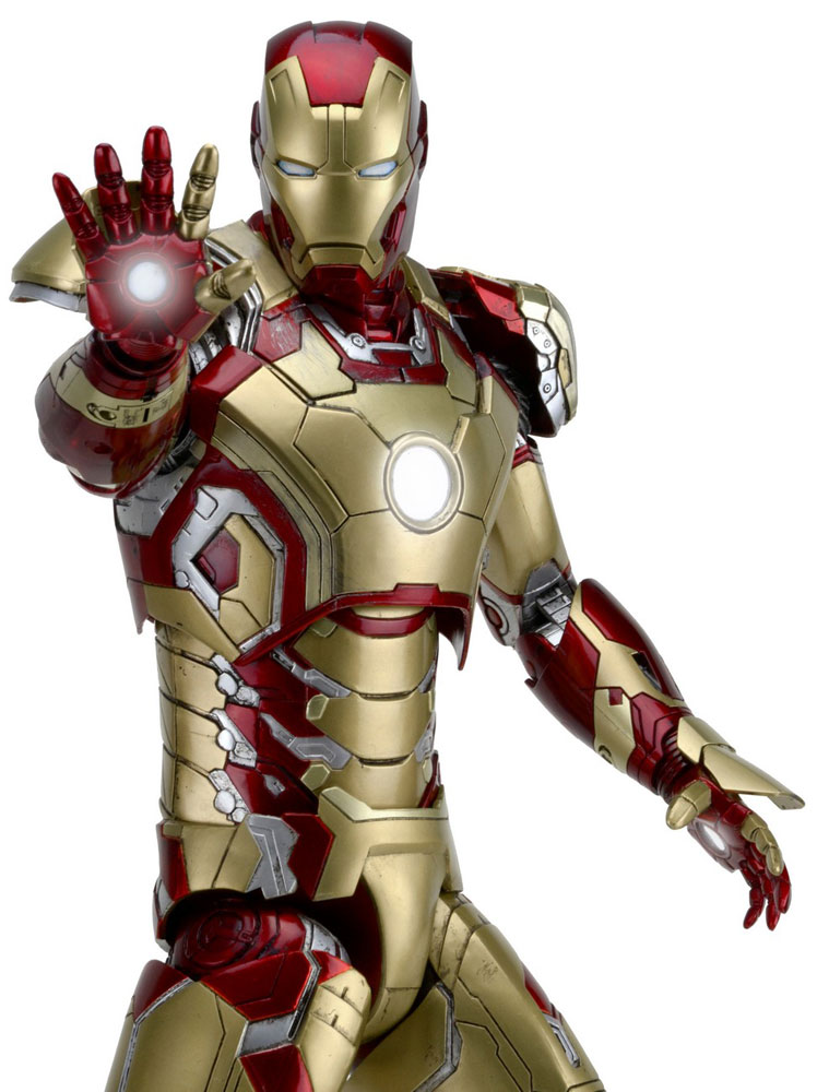 Action Figure Iron Man 3 1/4 Iron Man Mark XLII 46 cm