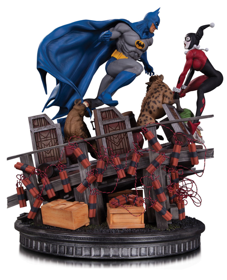 DC Comics Statue 1/8 Batman VS. Harley Quinn Battle Limited Edition 36 cm