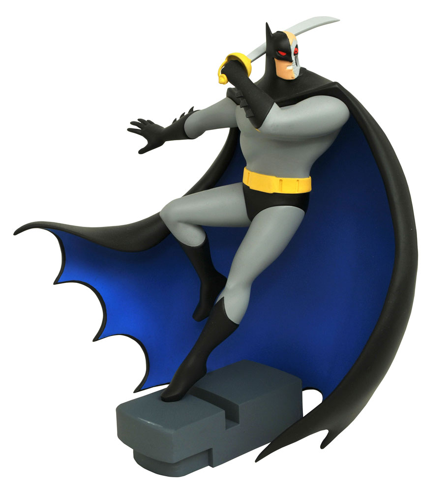 Batman The Animated Series DC Gallery PVC Statue Hardac Batman 28 cm