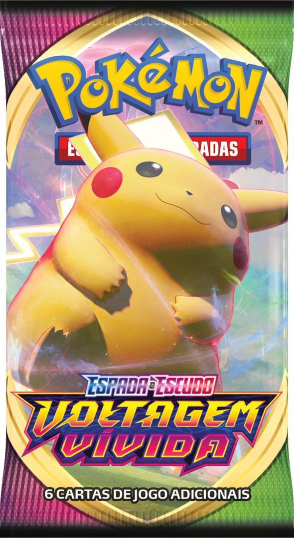 Pokémon Voltagem Vivida Booster PT