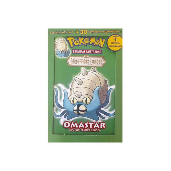 Pokémon Origem das Lendas Omastar