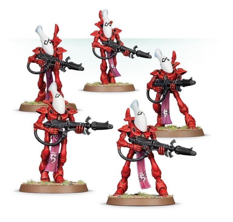 Warhammer 40,000: Start Collecting! Craftworlds Unpainted Miniatures