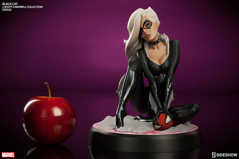Marvel Comiquette J. Scott Campbell Spider-Man Collection Black Cat 23 cm
