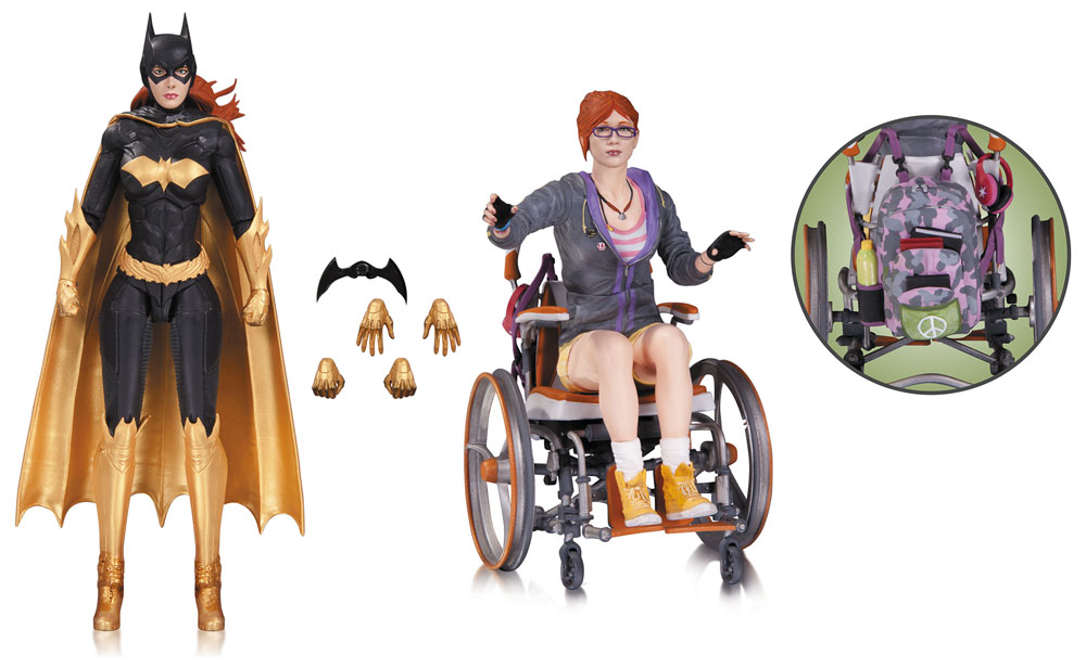 Batman Arkham Knight Action Figure 2-Pack Batgirl & Oracle 17 cm