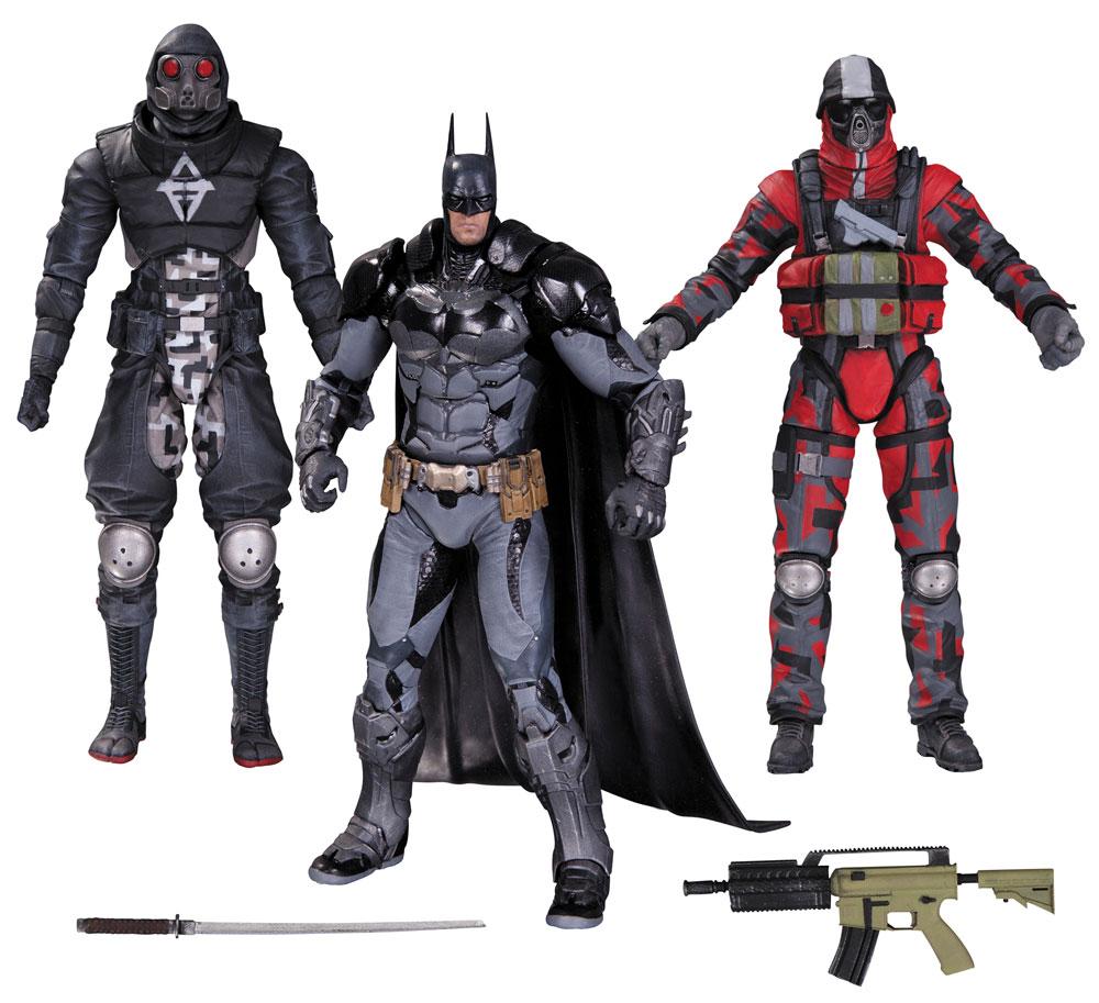 Batman Arkham Knight Action Figure 3-Pack Batman & Thugs 17 cm